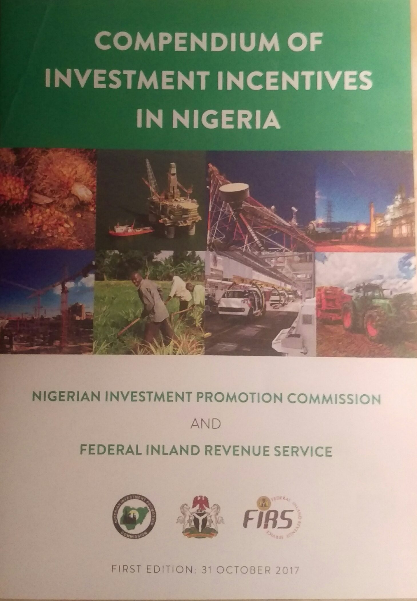 nigerian industrial policy and incentive from 1999 till date